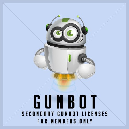 Gunbot - buy secondary licenses - members only
