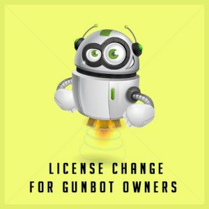 Buy Gunbot - License Change