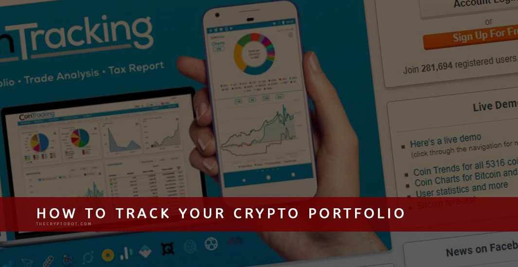 How to Track your Crypto Coin Portfolio - The Crypto Bot