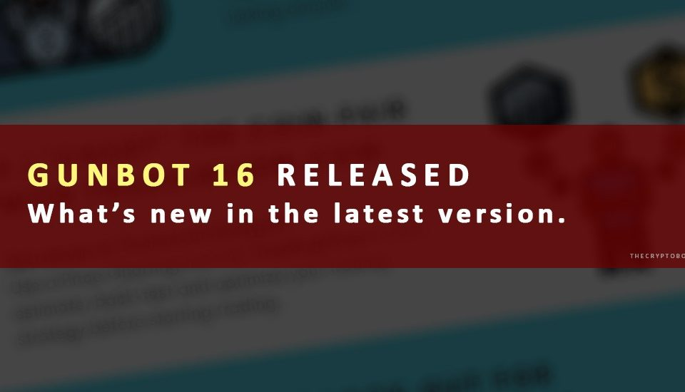 Gunbot v16 Release Download