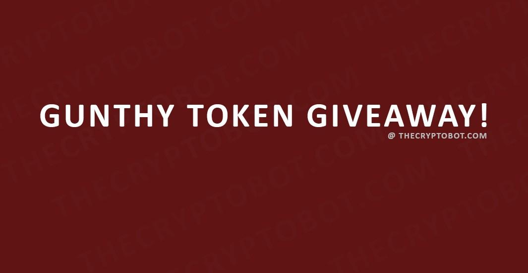Gunthy Token Giveaway
