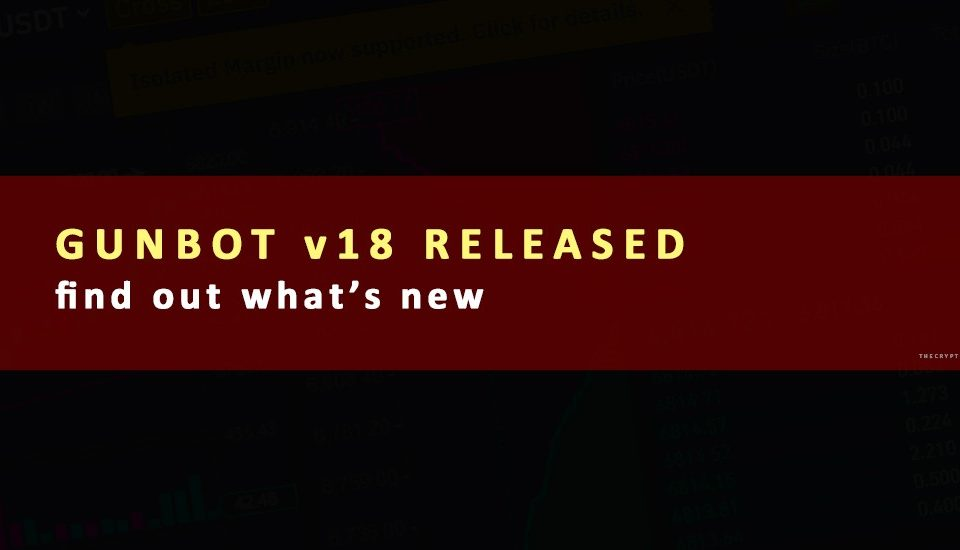Gunbot v18 Released