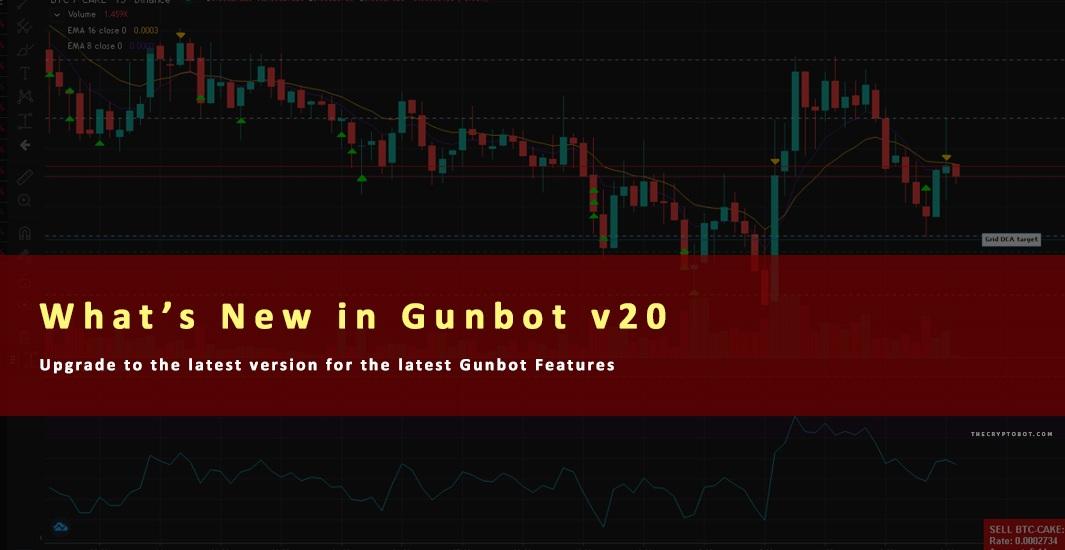 Gunbot v20 - What's New