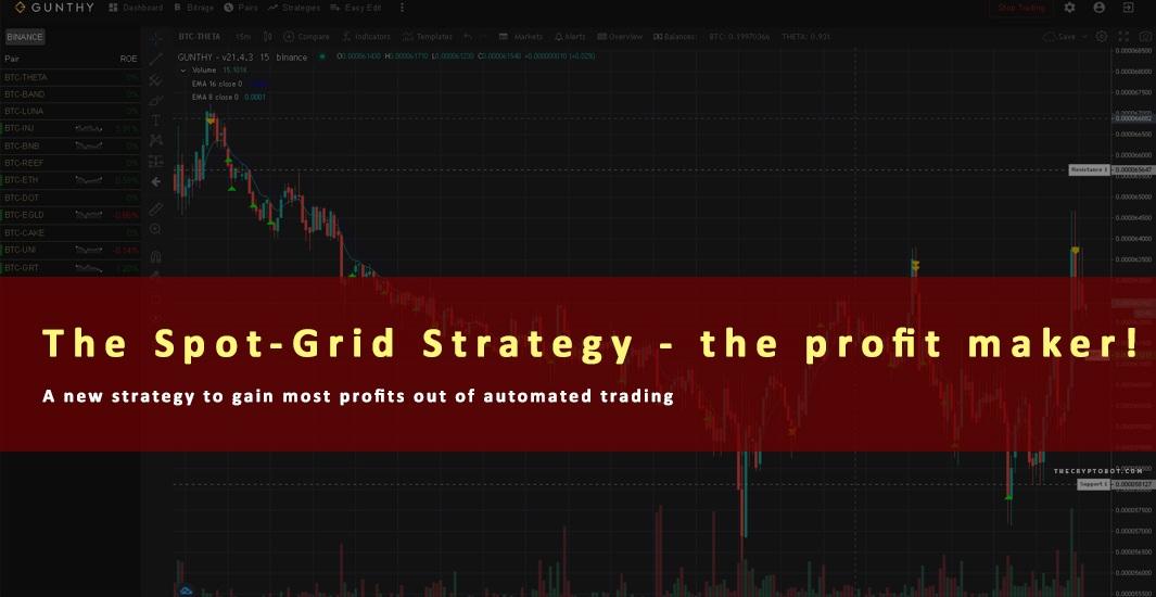 The Spot-Grid Strategy - the profit maker