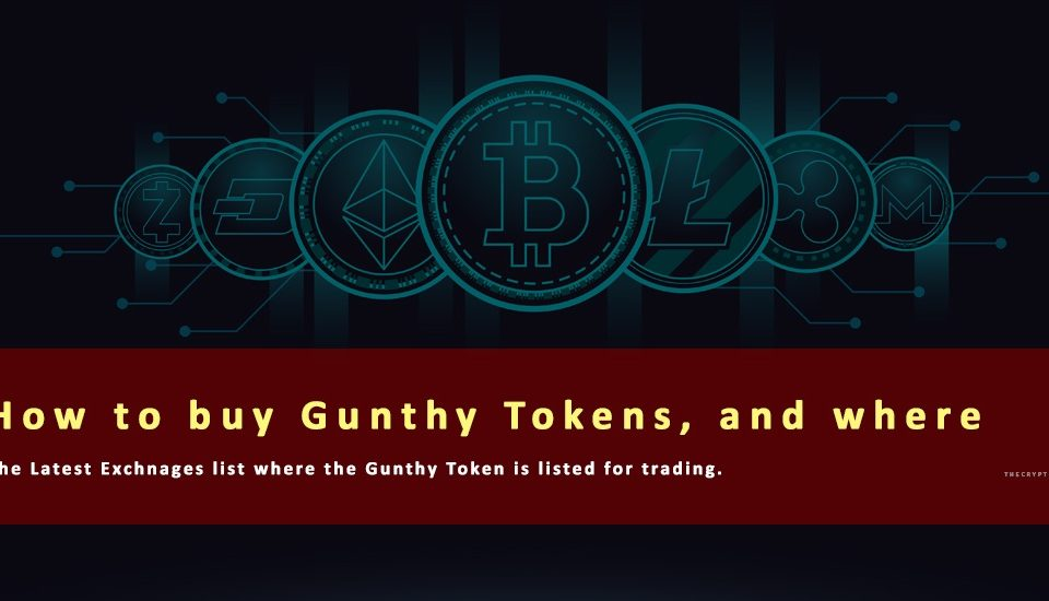 Where to buy Gunthy Tokens
